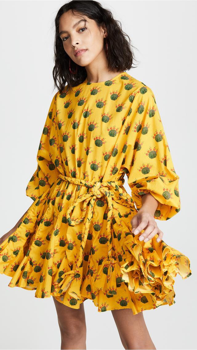 Rhode Resort Ella Dress in Yellow Multi