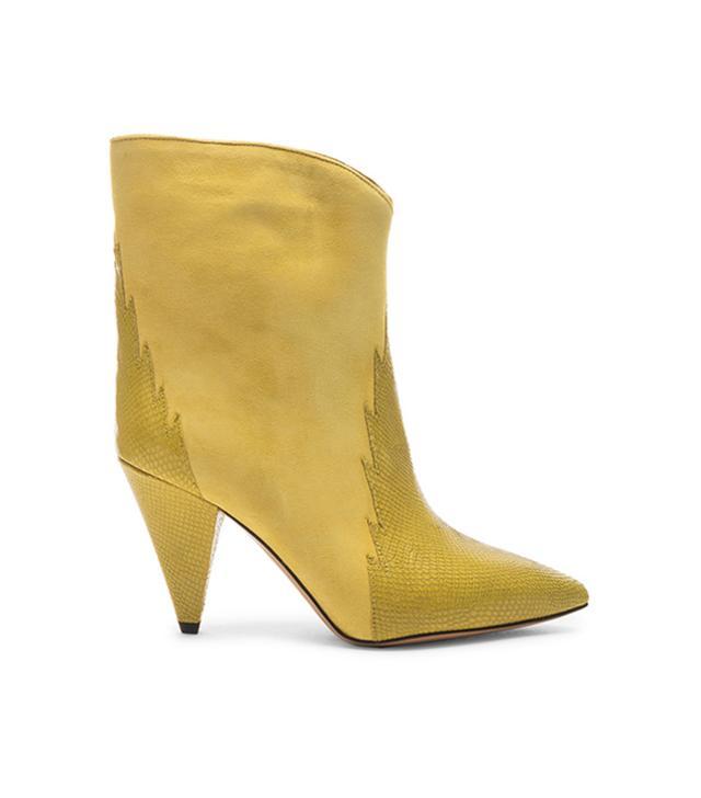 Isabel Marant Leider Boots