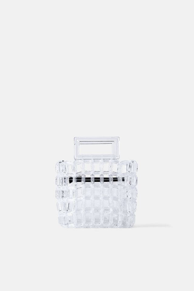 Zara Transparent Handbag