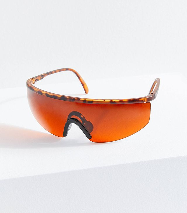 Vintage Newport Blue Cycling Sunglasses