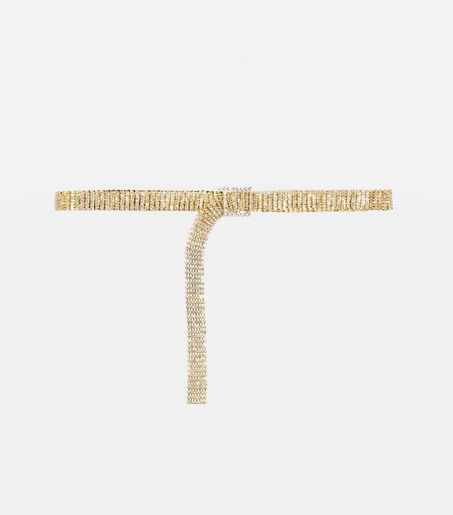 Topshop Diamante Belt