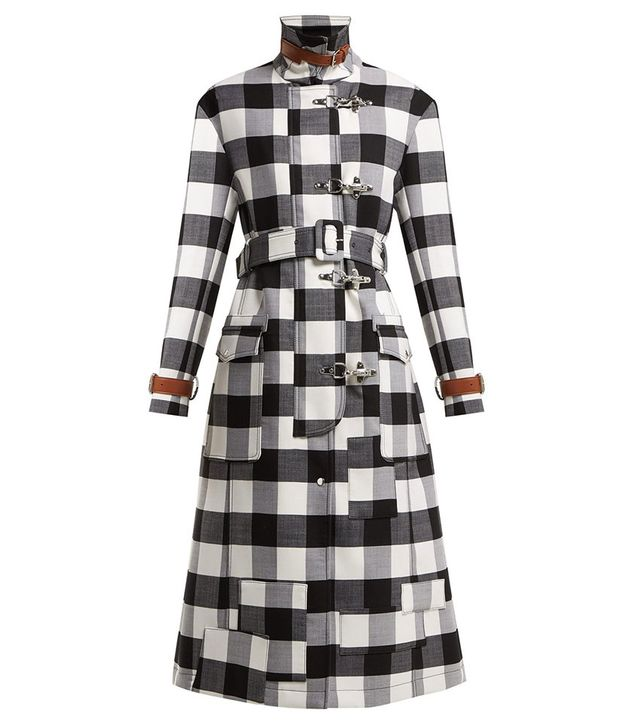 Altuzarra Agrippina Checked Coat