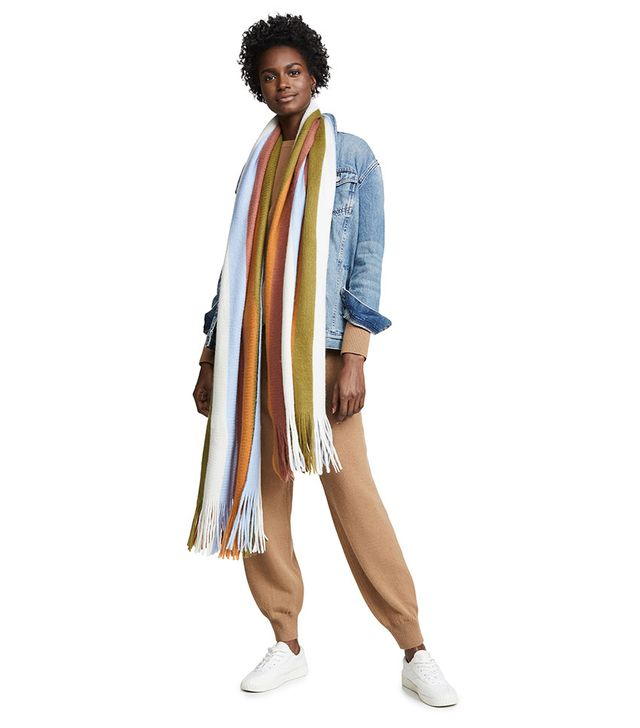 Madewell Oversized Striped Scarf
