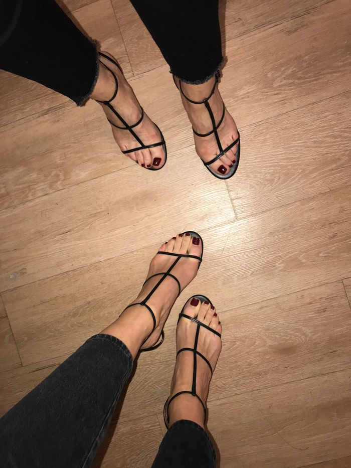 8648fcdc815e8d The  36 Zara Strappy Heels Everyone on Instagram Owns