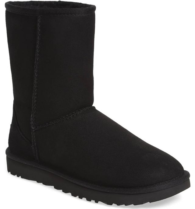 UGG Classic II Genuine Shearling Lined Short Boots