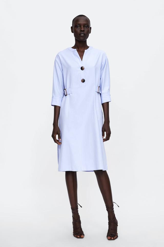 Zara Tunic With Buckles