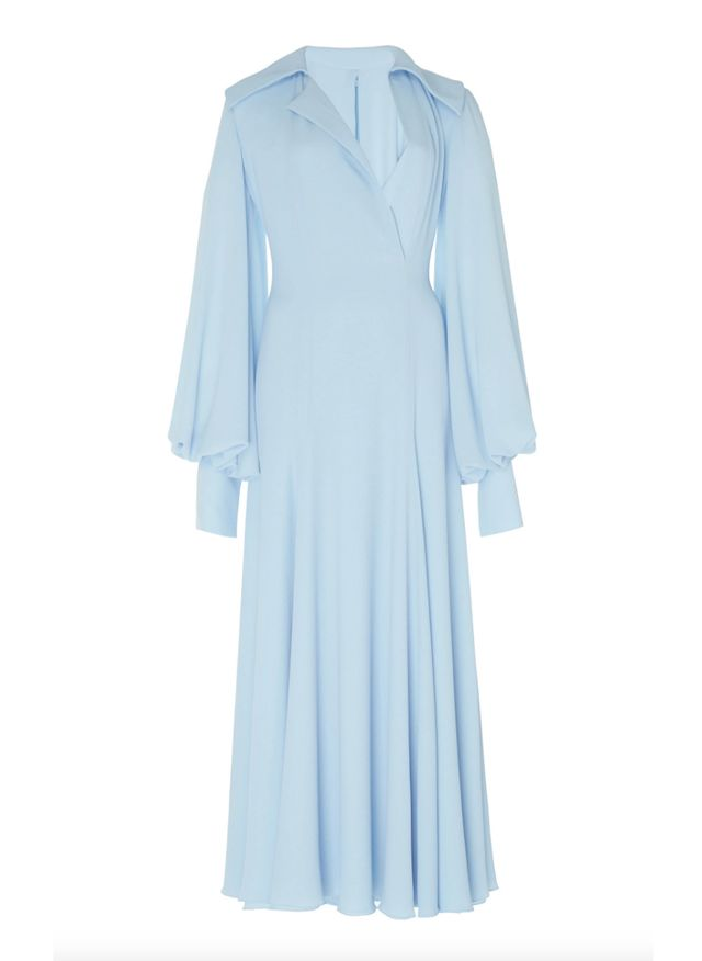 Emilia Wickstead Gaynor Stretch-Cady Midi Dress