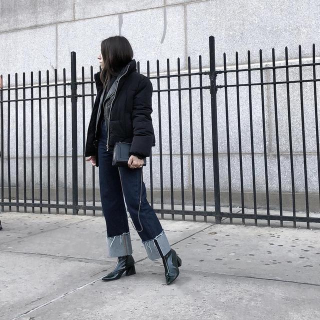 cuffed jeans trend 2019