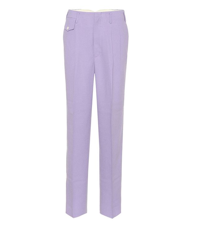 Golden Goose Deluxe Sally Wool Crepe Pants