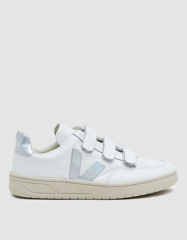 Veja V-12 Velco Sneakers in Extra White Unicorn