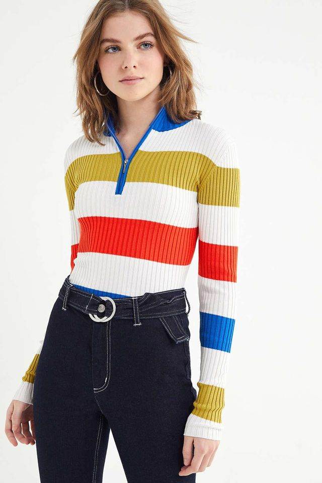 Urban Outfitters Harley Half-Zip Sweater