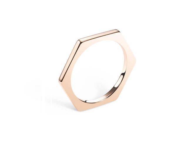 Selin Kent Hex Ring