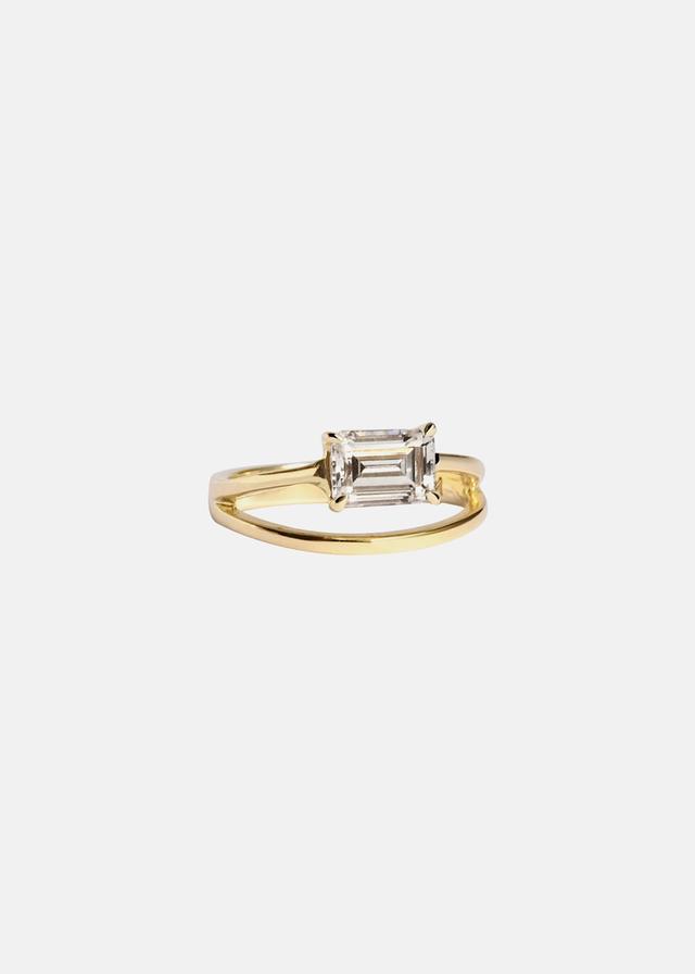 Katkim Emerald Sunset Ring