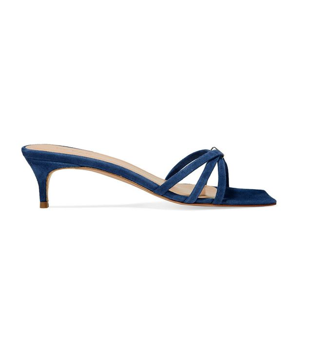 By Far Libra Suede Sandals