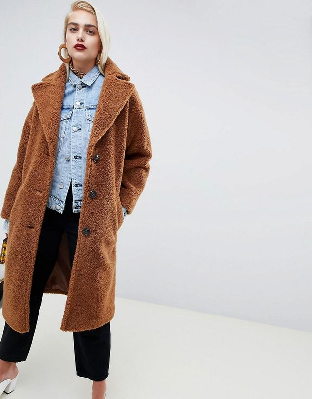 ASOS Teddy Coat