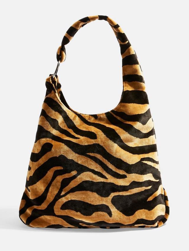Topshop Kenya Tiger Tote Bag