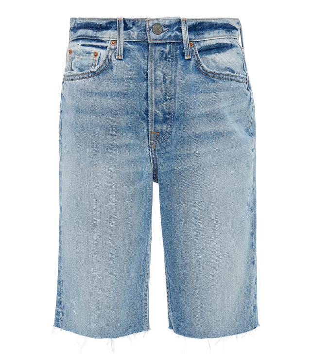 Grlfrnd Denim Beverly Denim Bermuda Shorts