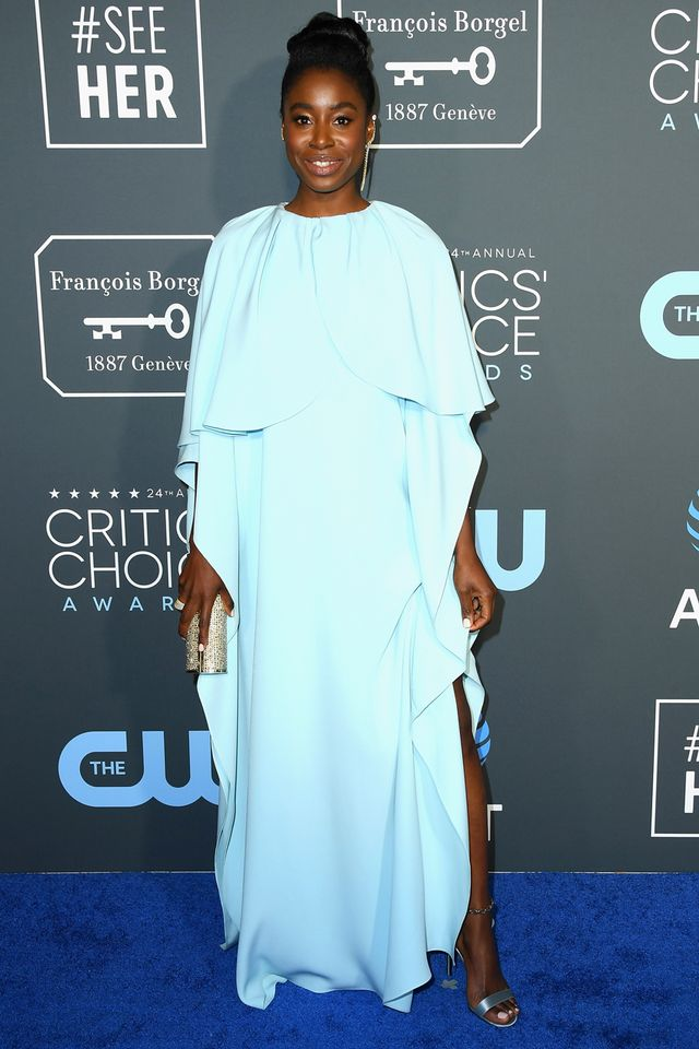 <p><strong>WHO:</strong> Kirby Howell-Baptiste</p>