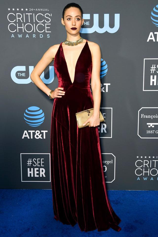 Emmy Rossum Critics' Choice Awards