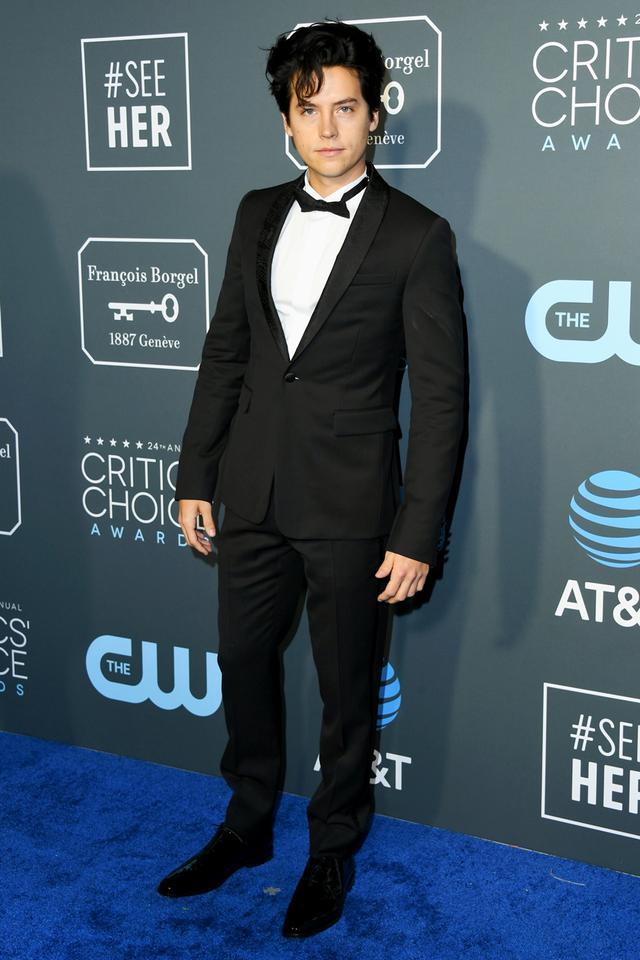 Cole Sprouse Critics' Choice Awards