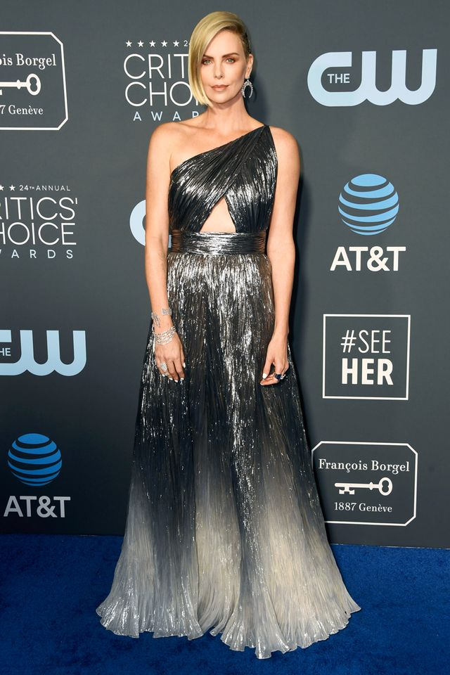 Charlize Theron Givenchy dress