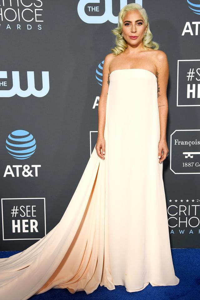 Lady Gaga Dress at the Critics' Choice Awards