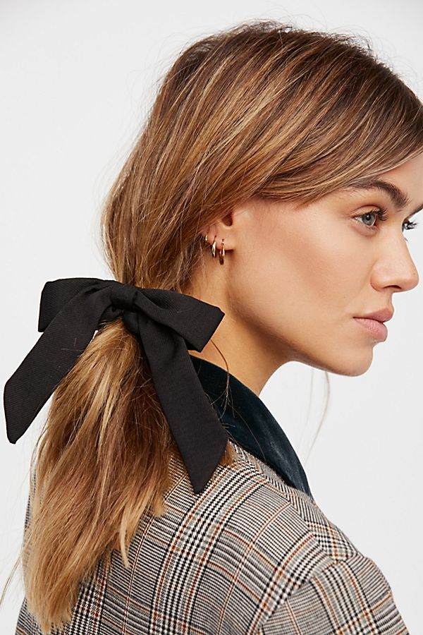 Free People Bow Scrunchie