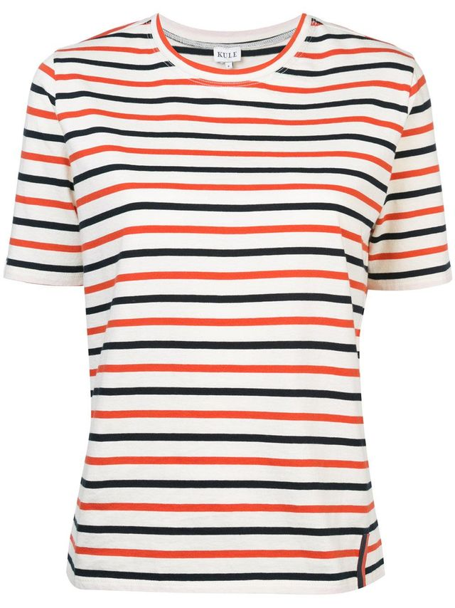 Kule Striped Short-Sleeve T-shirt