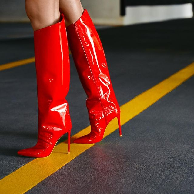 Red Boot Trend 2019