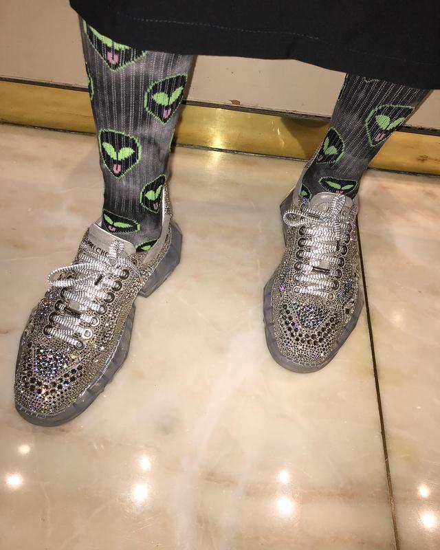 Sparkle Sneaker Trend 2019