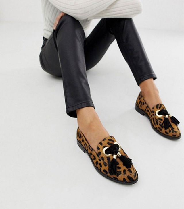 ASOS Design Mimi Leather Loafers
