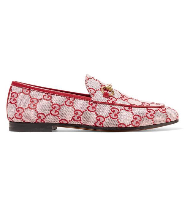 Gucci Jordaan Horsebit-Detailed Loafers