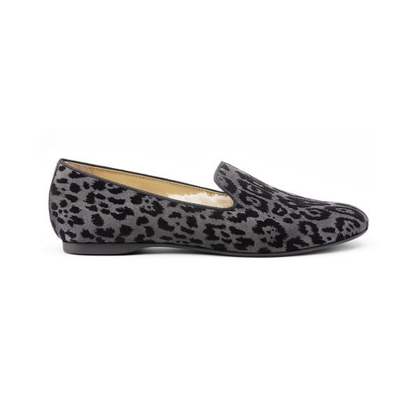 Birdies The Starling Slippers in Black Leopard