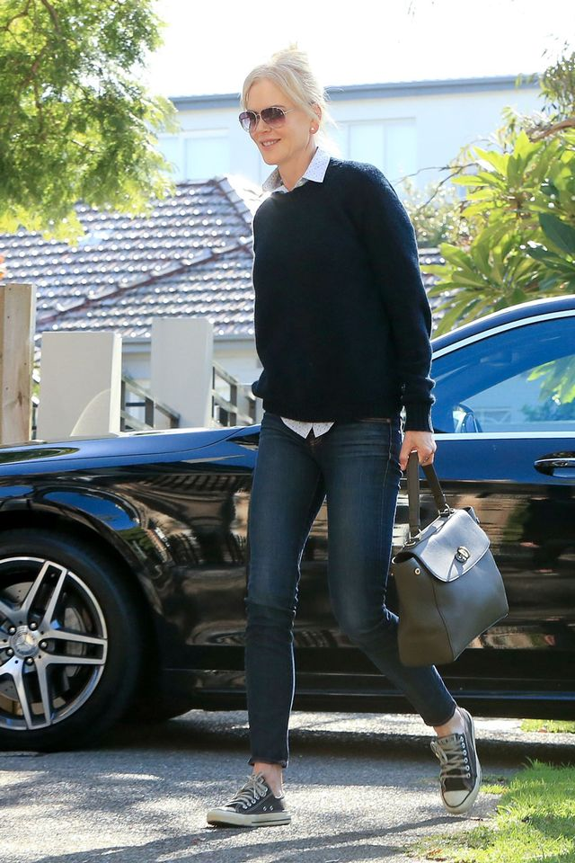 Nicole Kidman skinny jeans