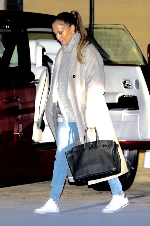 Jennifer Lopez sneakers