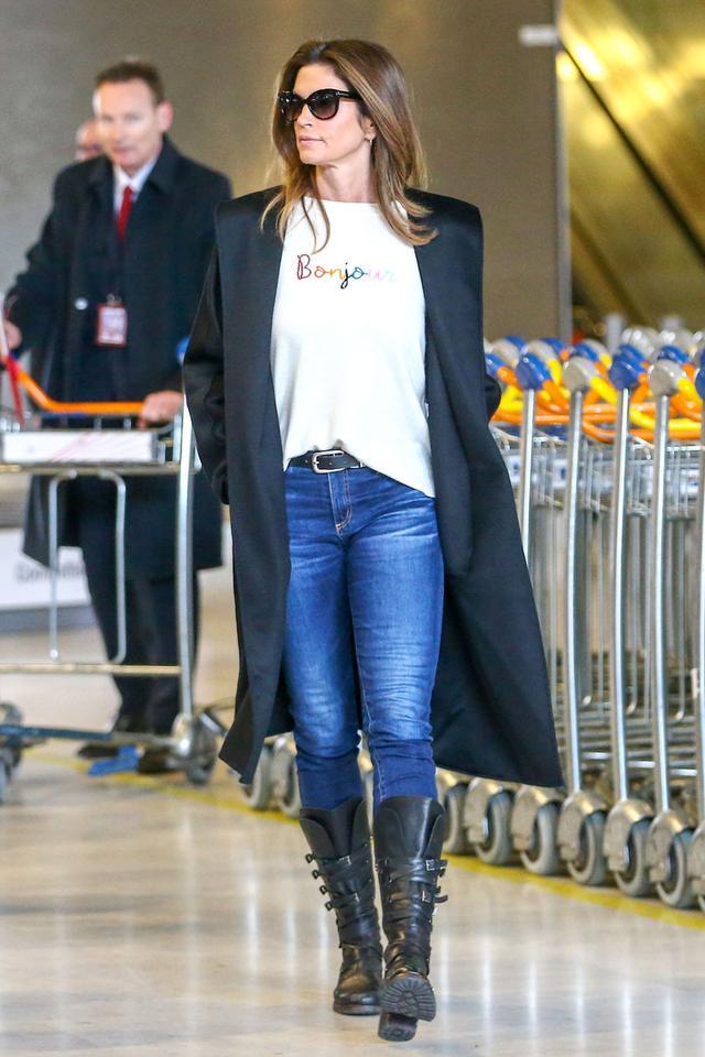 Cindy Crawford skinny jeans