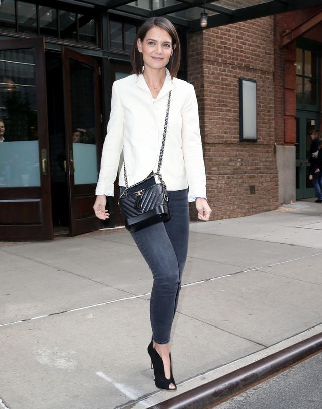 Katie Holmes skinny jeans