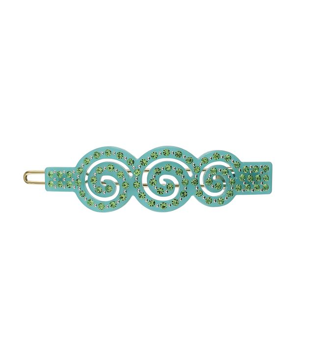 Kanel No. 9 Turquoise With Light Green Stones