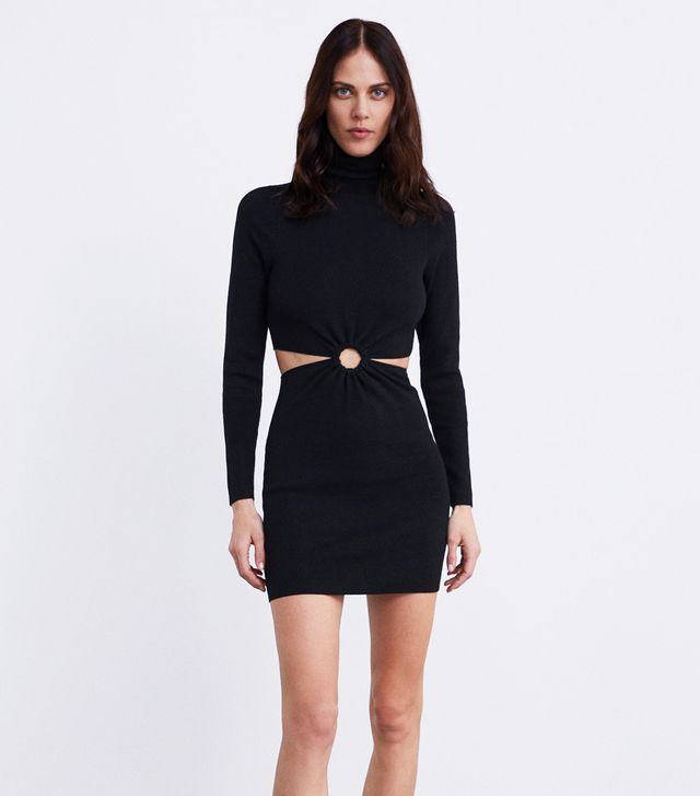 Zara Dress With Cut Outs
