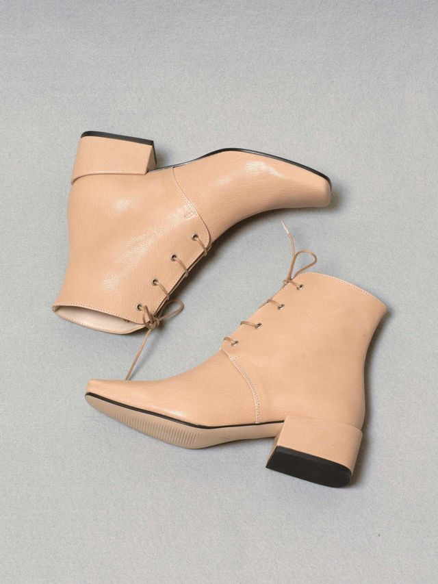About Arianne Gabriel Boots in Nude