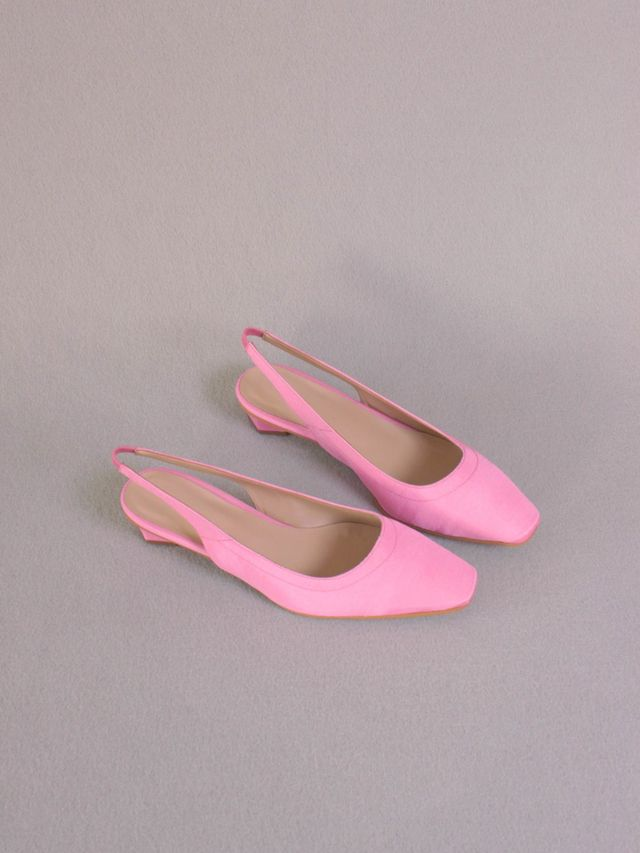 About Arianne Galo Blush Heels