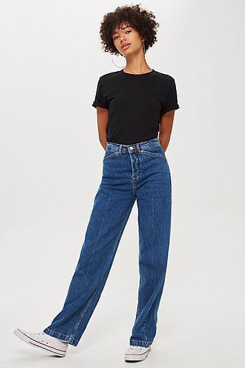 Topshop Parallel Leg Jeans