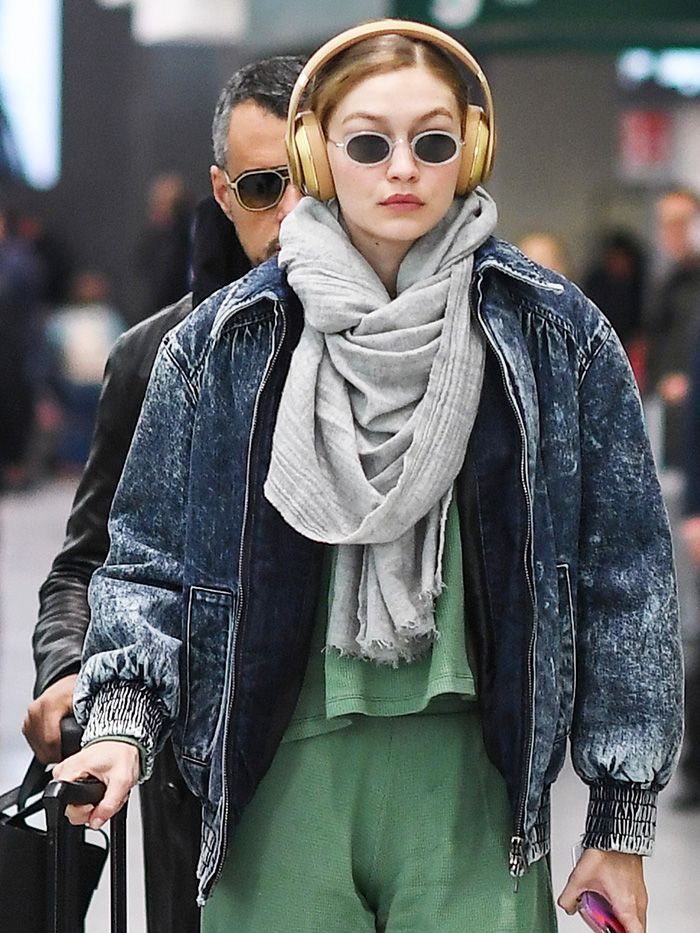 Gigi Hadid Wore the #1 Travel Essential   Who What Wear