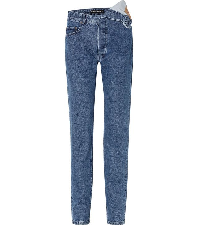 Y/Project Asymmetric Boyfriend Jeans