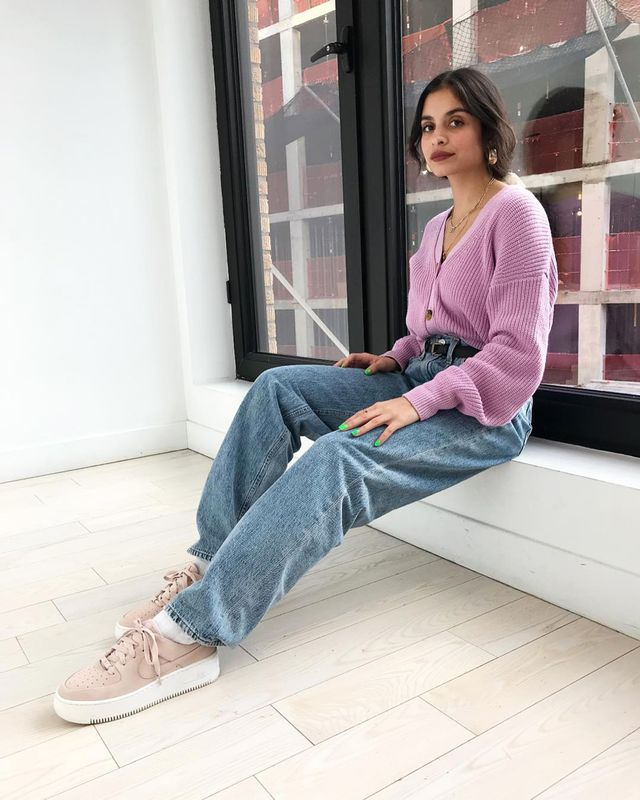Baggy-jean outfit