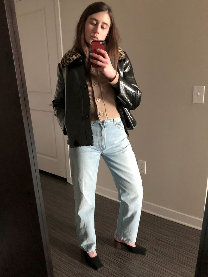 359d0344c How to Wear the Non-Skinny-Jean Trend When You're Short | Who What Wear
