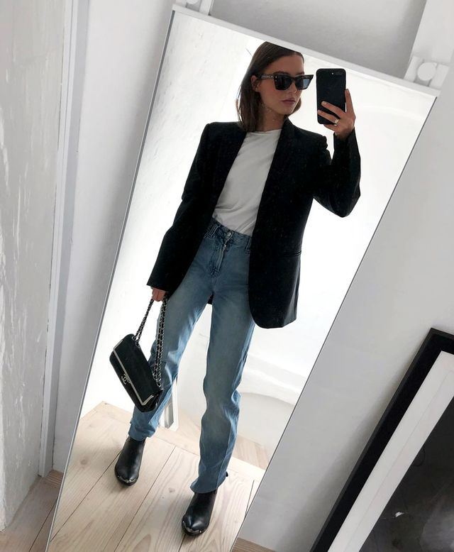 Cool blazer outfit