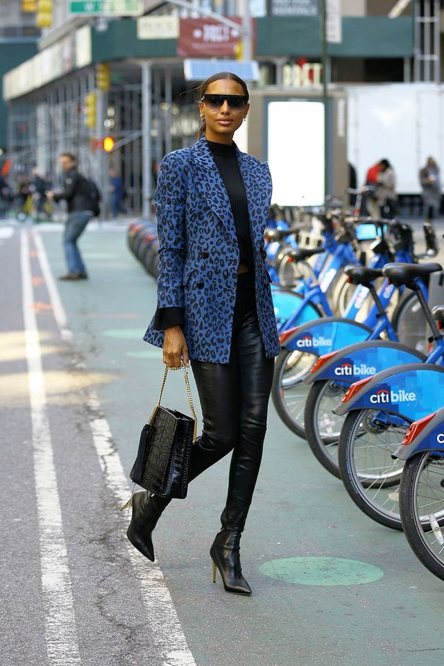 Jasmine Tookes Ankle Boot Styling Mistake