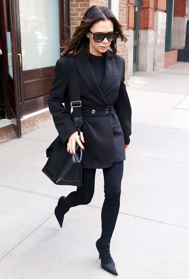 Victoria Beckham Ankle Boot Styling Mistake