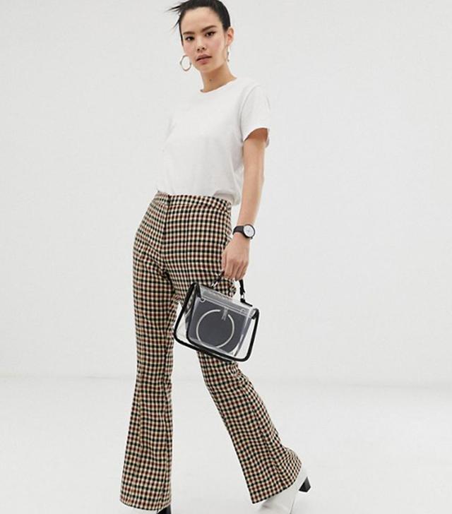 ASOS Design Slim Kick Flare Pants